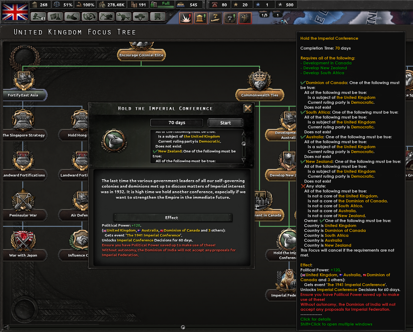 Imperial Conference question | Paradox Interactive Forums