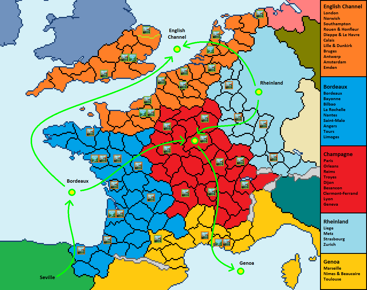 Provinces Of France Map In English.France Provinces Paradox Interactive Forums
