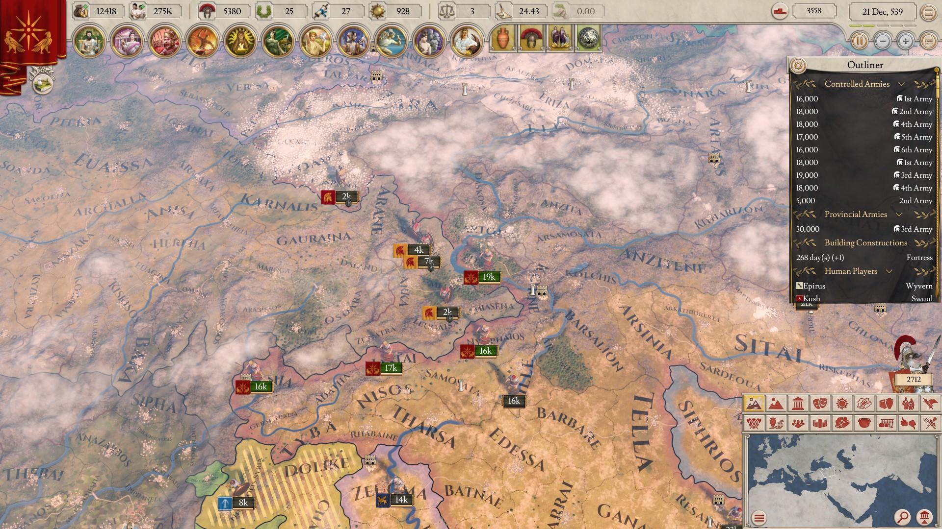 We Three Kings II - An Imperator: Rome Multiplayer Beta AAR