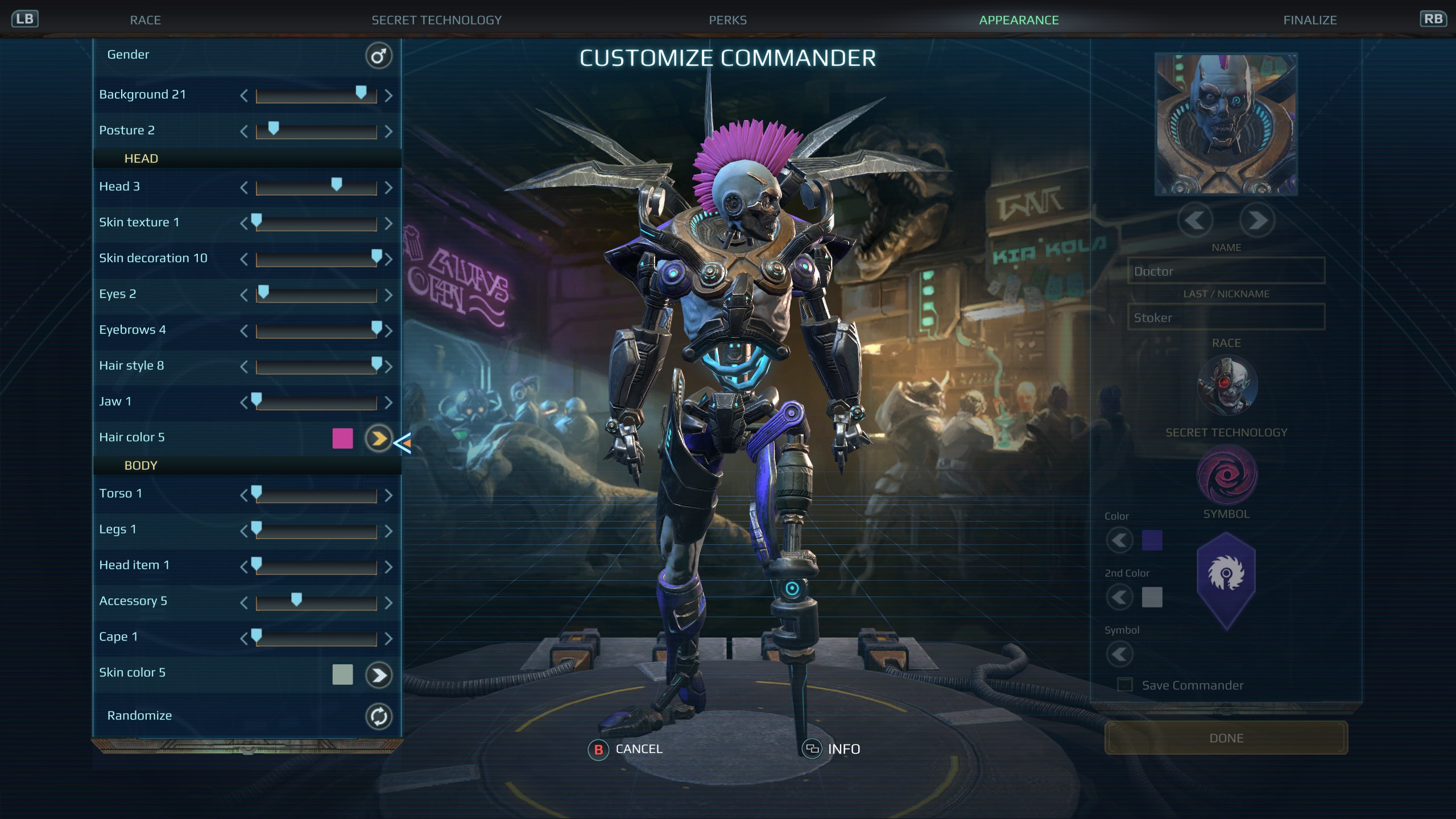 Age of Wonders: Planetfall - Dev Diary #45: Console