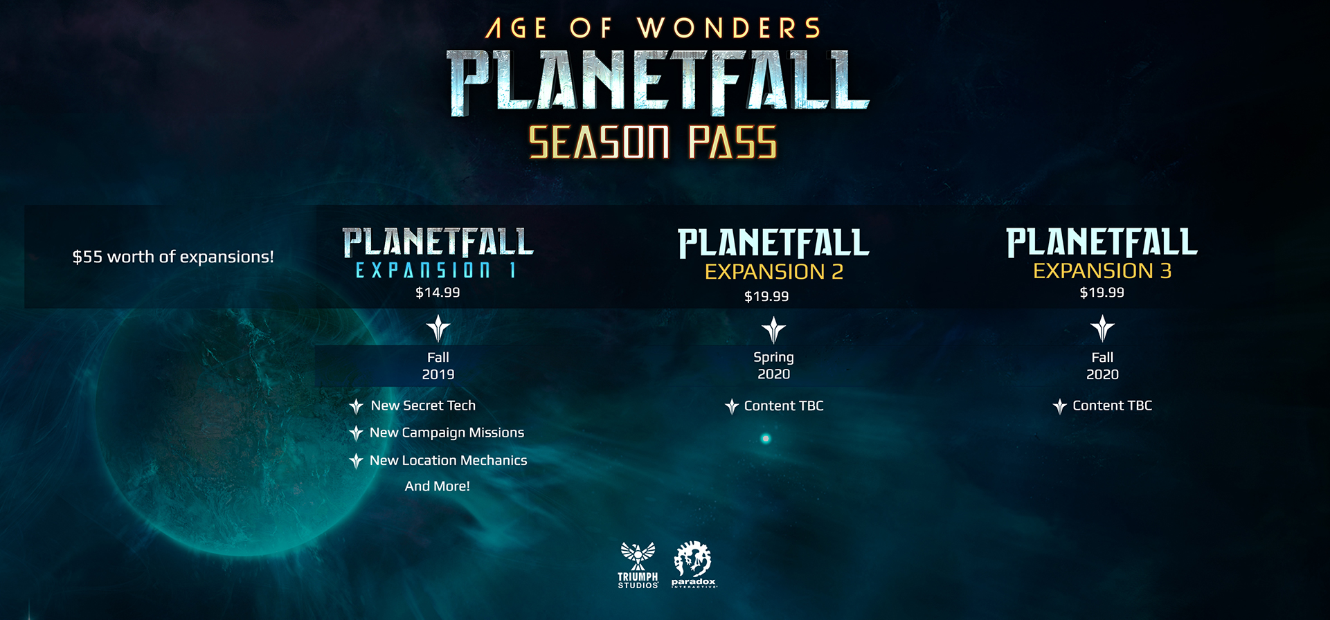 Age of Wonders: Planetfall FAQ | Paradox Interactive Forums