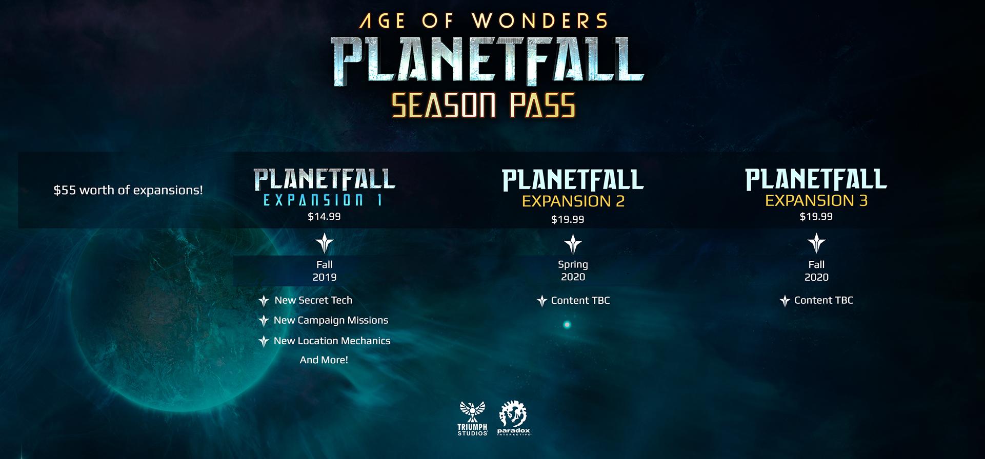Age of Wonders: Planetfall FAQ | Paradox Interactive Forums