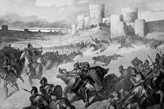 "Giuliano_Zasso,_""Armenians_defeat_Byzantine_forces_attacking_Ani"".jpg"